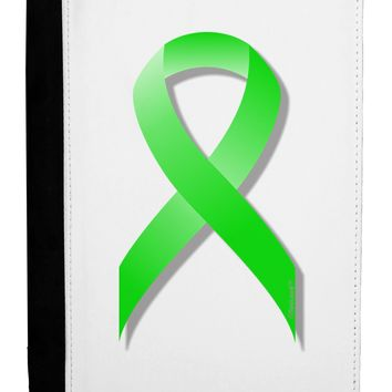 Lyme Disease Awareness Ribbon - Lime Green Ipad Mini Fold Stand  Case by TooLoud