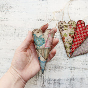 4 designs wooden boho heart ornaments bridal shower baby shower boho wedding favors bohemian wedding