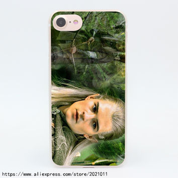 1175X Lord of the Rings Legolas Hard Transparent Case for iPhone 7 7 Plus 6 6S Plus 5 5S SE 5C 4 4S