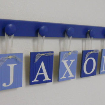 Personalized Name Wall Art shop wooden boy name on wanelo