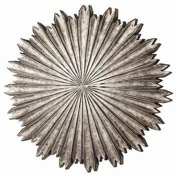 Arteriors Home Octavia Small Metal/Wood Wall Plaque