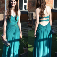 Strapless Prom Dresses,A-Line Prom Dresses,Long Evening Dress
