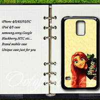 Tangled,samsung galaxy S4 active case,samsung galaxy S3,S4,S5,samsung galaxy S3mini,S4mini,samsung galaxy note2,note3,Blackberry Z10,Q10