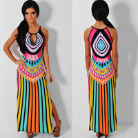Retro Maxi Bohemian Boho Clothing