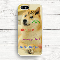 iDoge Shibe Doge iPhone 4s 5s 5c 6s Cases, Samsung Case, iPod case, HTC case, Xperia case, LG case, Nexus case, iPad case