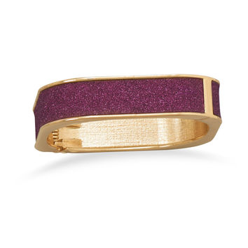 Sparkle Square Fashion Bangle Bracelet