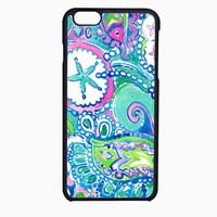 lily pulitzer flower and fish FOR IPHONE 6 CASE NEWEST **