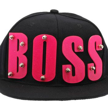 Boss Snapback Hat And Cap 289