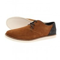 Fred Perry Hewitt Suede Shoes - Footwear from The Menswear Site UK