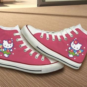 ICIKGQ8 hello kitty converse shoes