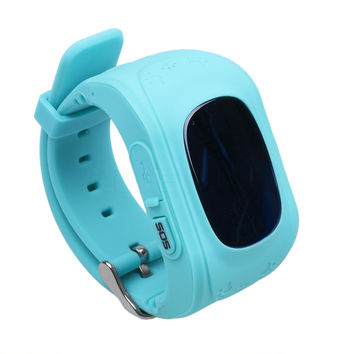 Hotest Fashion Children Gifts Q50 Child Kid Smart Watch GSM GPRS GPS Locator Tracker Anti-Lost Smartwatch for phone