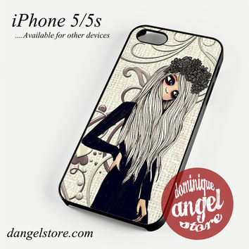 Emo girl Phone case for iPhone 4/4s/5/5c/5s/6/6 plus
