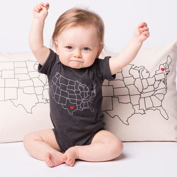 Counter Couture - Baby - Map Vintage Smoke