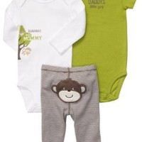 Carter's 3-Piece Set - Daddy's Little Guy (3 Months)