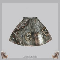 Horror Lolita Skirt ·  Haunted Mansion series by Violet Fane · Jersey skirt