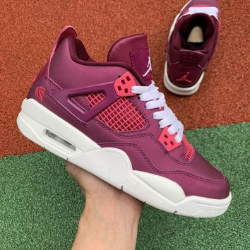 "Air Jordan 4 GS ""True Berry"" - Best Deal Online"