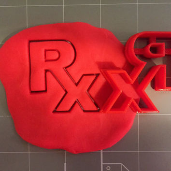 RX Logo Cookie Cutter