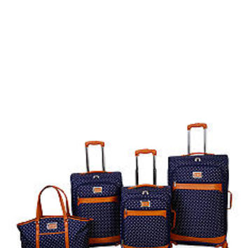 Jessica Simpson Socialite Luggage Collection - Navy - Belk.com