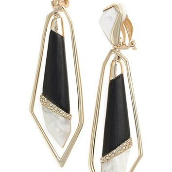 Alexis Bittar 'Lucite® Metal - Dangling Orbit' Clip Earrings | Nordstrom