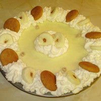 9 inch Whip Cream Pie Candle - Banana Cream Pie