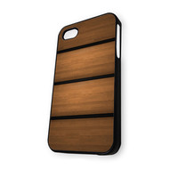 Wood Stripe iPhone 5/5S Case