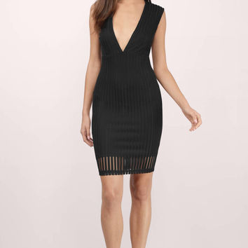 Whitney Semi Sheer Midi Dress