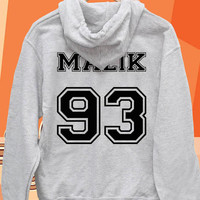 Zayn Malik 93  date of birth one direction Pullover hoodies Sweatshirts for Men's and woman Unisex adult more size s-xxl at mingguberkah