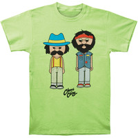 Cheech & Chong Men's  Cheech & Chong T-shirt Green