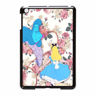 Alice In Wonderland Floral iPad Mini Case