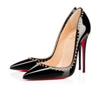Anjalina 120mm Black Patent Leather