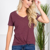 Simple Washed Pocket Tee | Colors