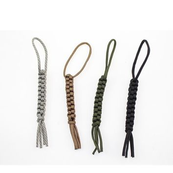 Parachute Cord Chain Driver Lanyard Knife Gear Trave Kits. 550 paracord