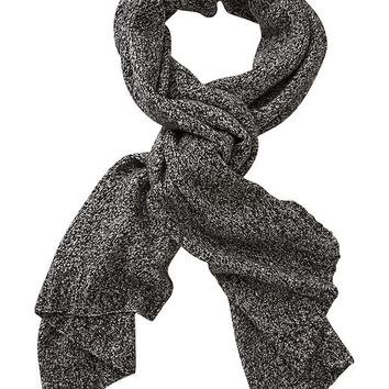 Athleta Boucle Scarf Size One Size - Black marl