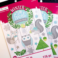 Winter Frost Darice Sticker Book - SB51