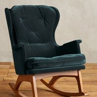 Velvet Finn Rocker by Anthropologie