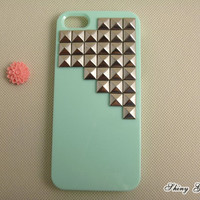 Silver Pyrmaid Studs IPhone 5 Case,.. on Luulla