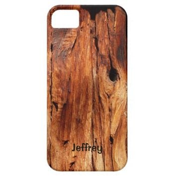 iPhone SE, 5, 5s Case, Weathered Wood Siding iPhone SE/5/5s Case