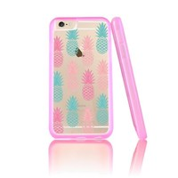 Pineapple Clear Transparent Plastic Phone Case for iphone 6 6s _ SUPERTRAMPshop