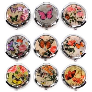 Graphic Butterfly Compact