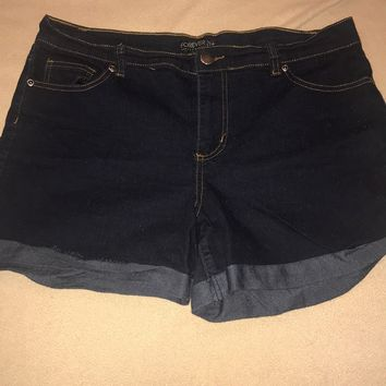 Forever 21 Plus-size High Waisted Jean Shorts