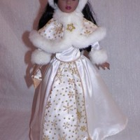 Avon Special Memories Holiday Radiance Doll African American Circa 2001 Used