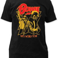 T-shirt David Bowie 1972