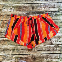Serape Shorties