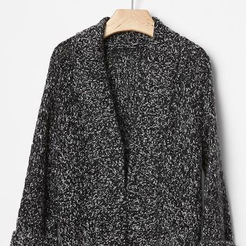 Gap Marled Single Button Cardigan