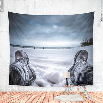 Frostbite Wall tapestry