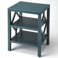 Halcyon Teal End Table