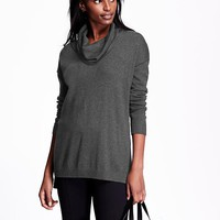 Old Navy Womens Cowl Neck Tunic Sweater