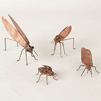 Anthropologie - Copper Garden Bugs