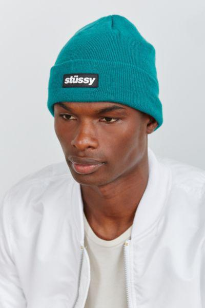 3085fbda158 Stussy Rubber Patch Beanie from Urban Outfitters