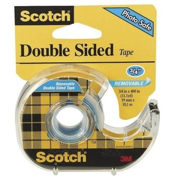 3M Commercial Office Supply Div. Double-sided Removable Tape